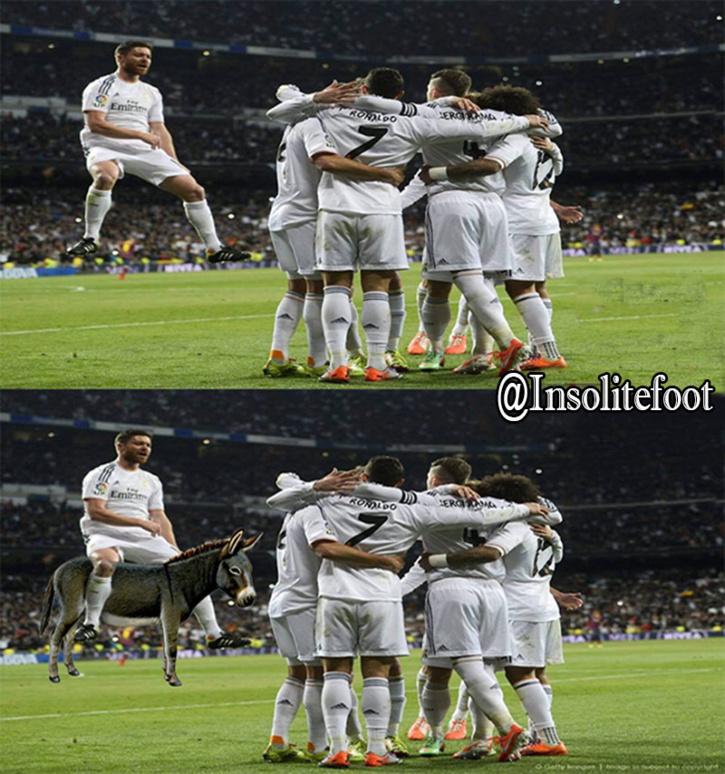 Xabi Alonso, À chacun sa façon de célébrer!