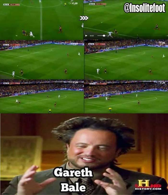 Le but spectaculaire de Gareth Bale contre Barcelone