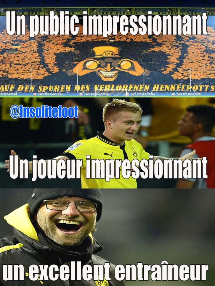 C'est tout simplement Borussia Dortmund !