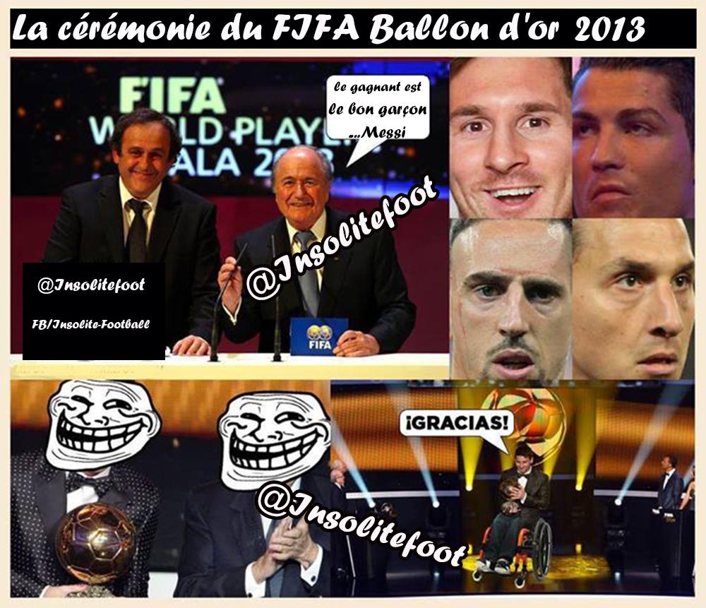 Ballon D'Or 2013 : Un Coup De Pouce De La FIFA à Messi