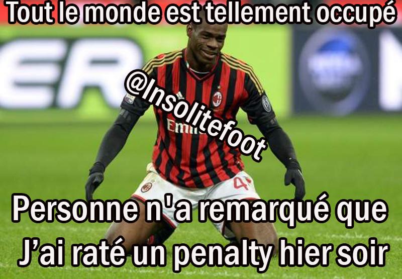 Mario Balotelli n'est plus le roi du penalty !!!