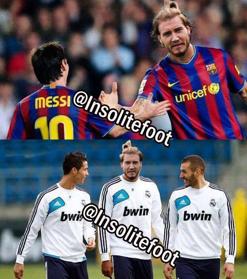 Bendtner s'invite au Barça et au Real Madrid !