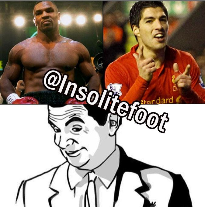 Luis Suarez sait aussi mordre ses adversaires !!!