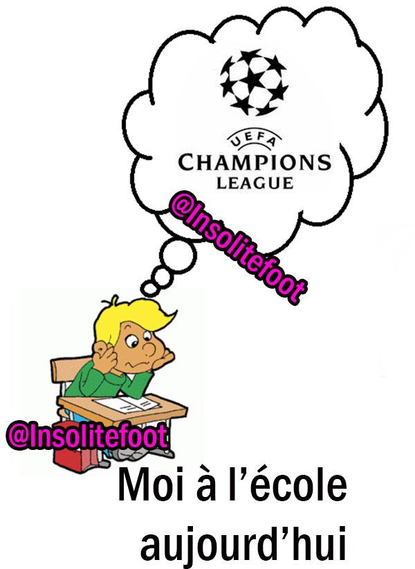 La Ligue des Champions est de retour ce soir !!!