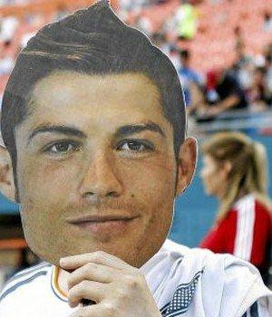 LDC : Ce soir à Madrid, pas moins de 45000 masques de Cristiano Ronaldo seront arborés dans les tribunes du Bernabeu!