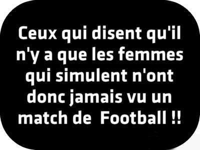 Humour : Ils n'ont jamais vu un match de football !!!