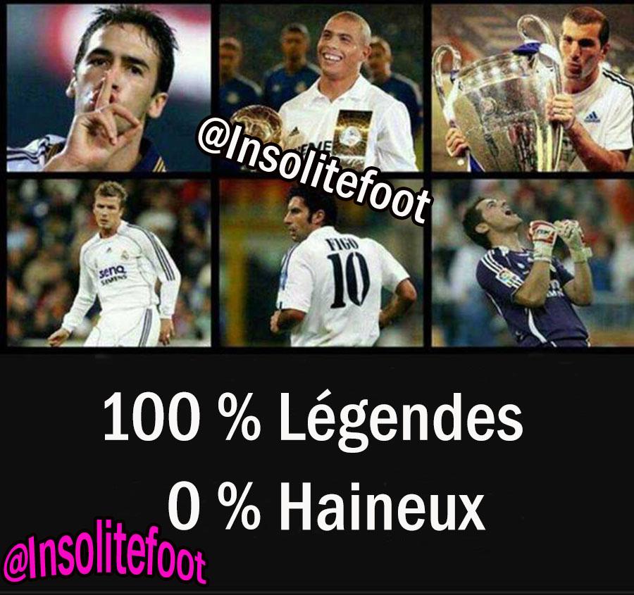 Les légendes du Real Madrid !!!