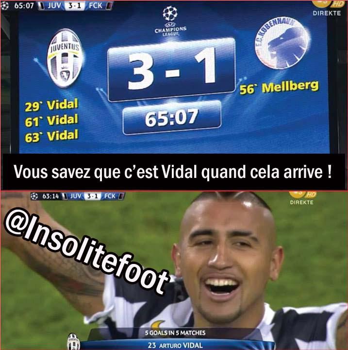 Ligue des Champions : La Juve de Vidal réagit !!!