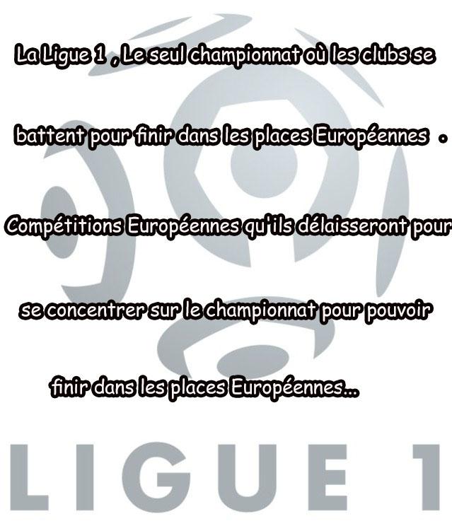 La Logique de la Ligue 1 !