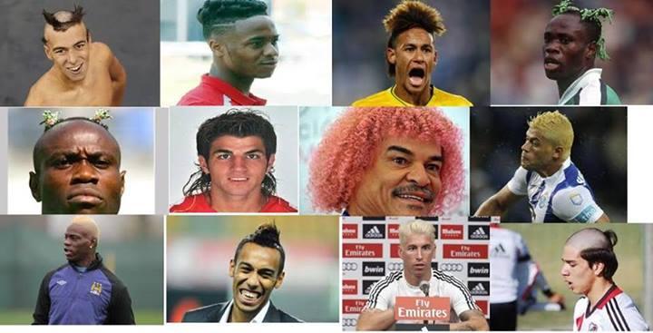 Les pires coupes de cheveux des footballeurs !!!