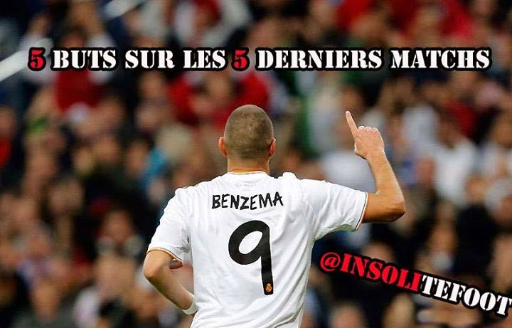 Real Madrid : Karim Benzema (5/5) !!!