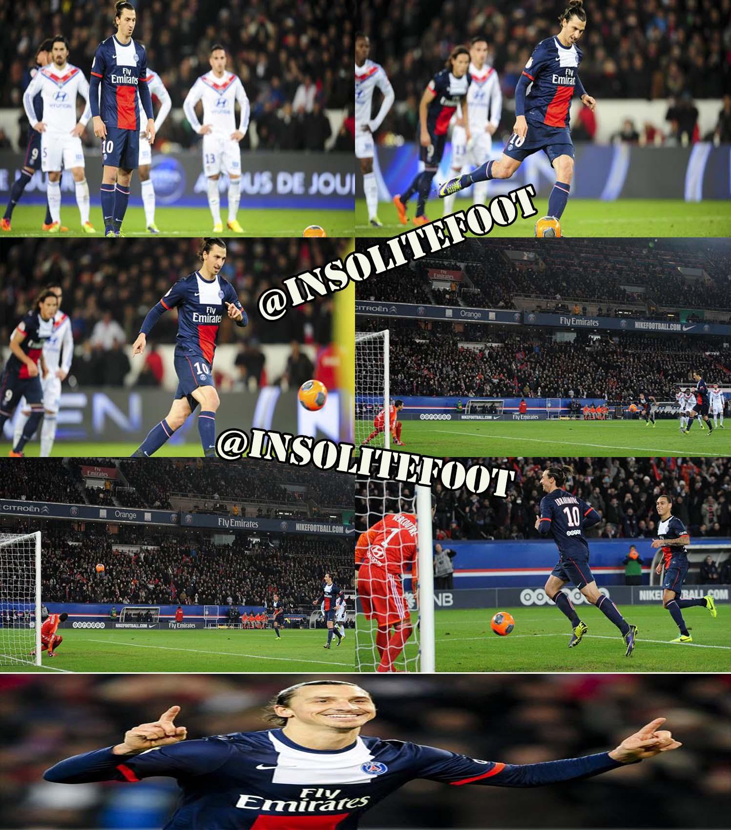 PSG : La panenka de Zlatan Ibrahimovic contre Lyon !!!