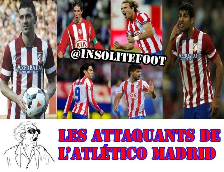 Atlético Madrid : La culture de l'attaquant!