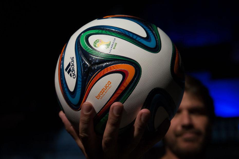 """Brazuca"", ballon officiel du Mondial 2014"