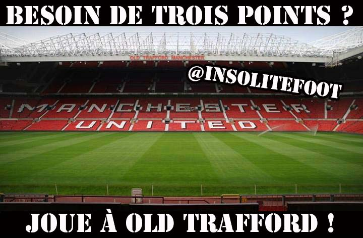 Bienvenue à Old Trafford !