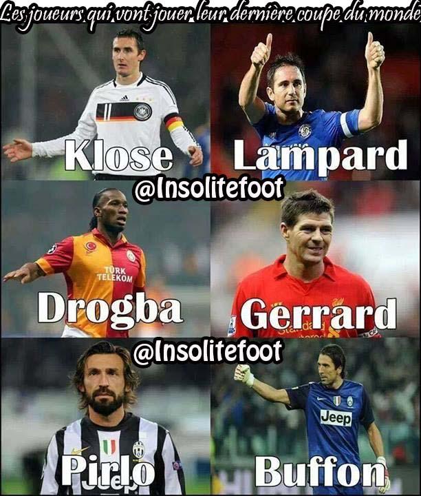 Ils vont jouer leur dernière coupe du monde!