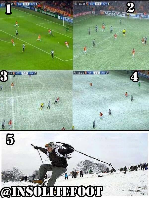 Enfin, La pelouse est prête pour le match Galatasaray-Juventus !
