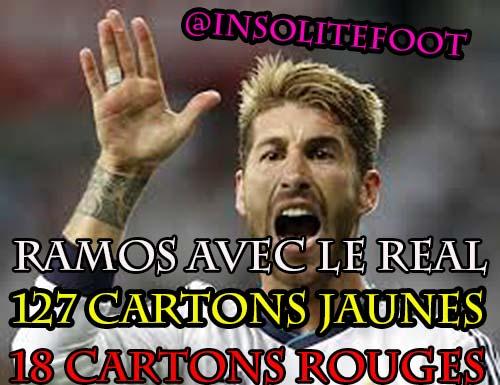Real Madrid : Sergio Ramos, MR Rouge!
