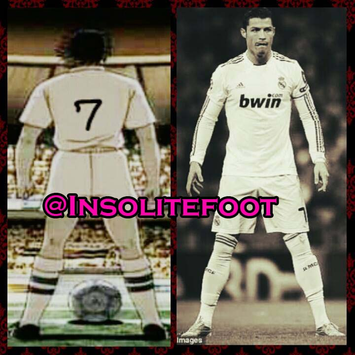 Cristiano Ronaldo s'est peut être inspiré du dessin animé Olive et Tom!
