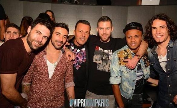 André Ayew s'affiche en discothèque avec les joueurs du PSG!
