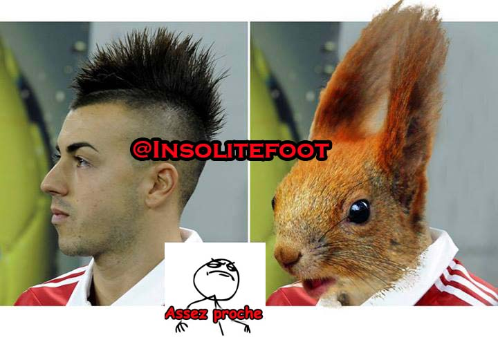 Humour : Quand El Shaarawy se transforme!