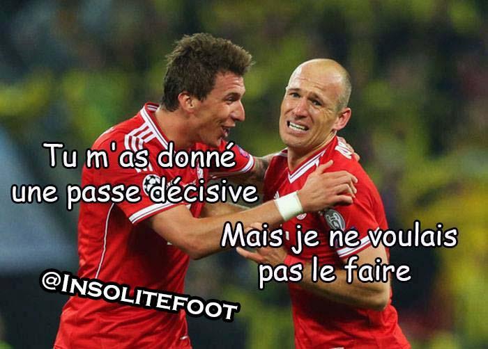 Humour : Egoïste, Robben ?