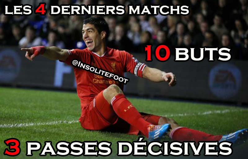 Liverpool : Suarez is on Fire !