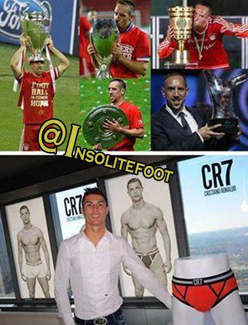 Ronaldo trollé par Ribéry!