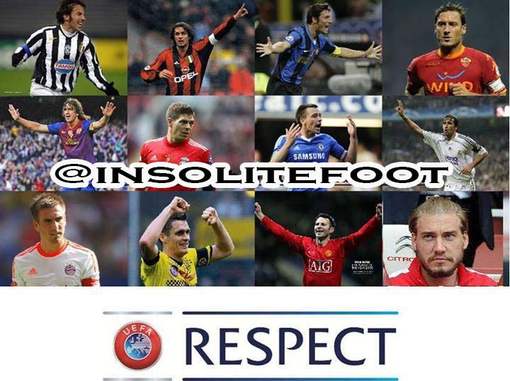 Les légendes du foot !