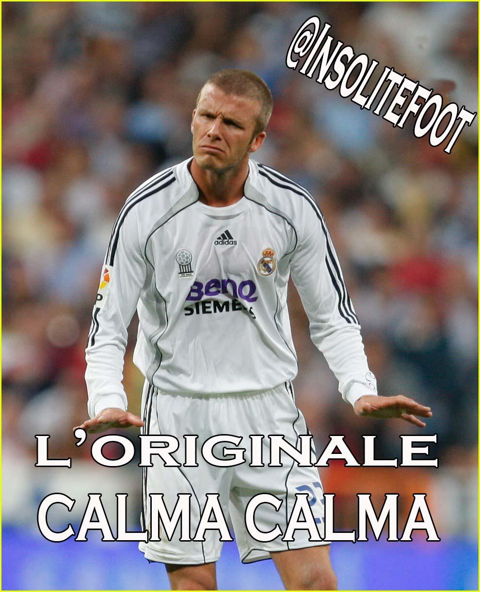 Voilà l'originale CALMA CALMA!