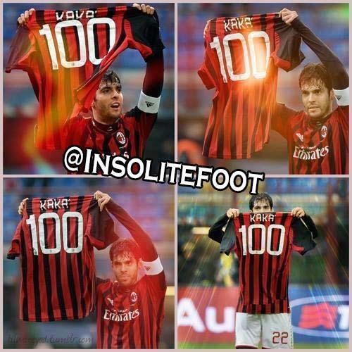 Milan AC : le 100e but de Kaka