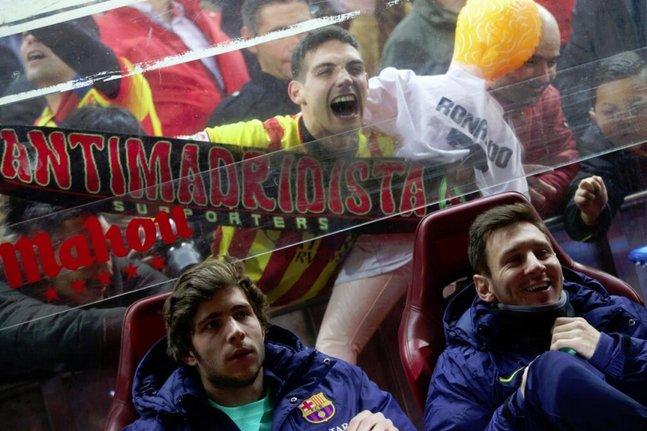 Un anti-Cristiano se sert de Messi sur le banc