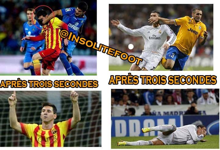 La différence entre Cristiano Ronaldo et Lionel Messi !!!