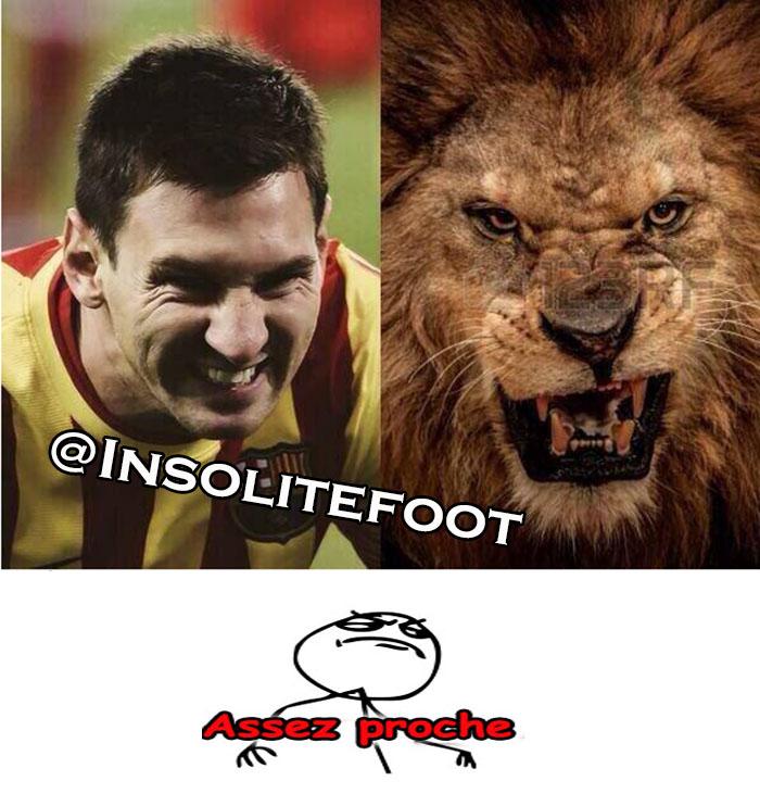 Assez Proche : Lionel Messi, le Lion!!!