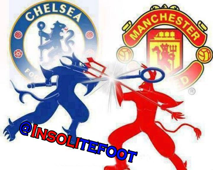 Le choc Chelsea-Man United se joue ce soir