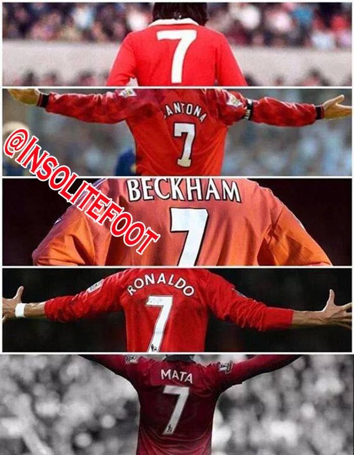 Manchester United : Le numéro 7, une légende…