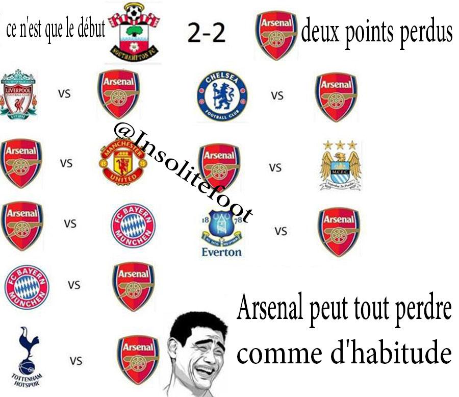 Arsenal peut-il tout perdre ?