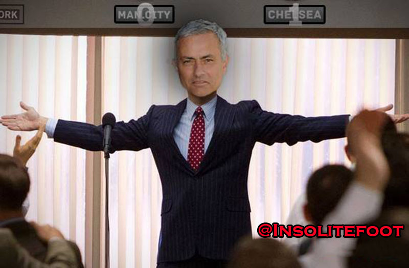 Le patron Mourinho