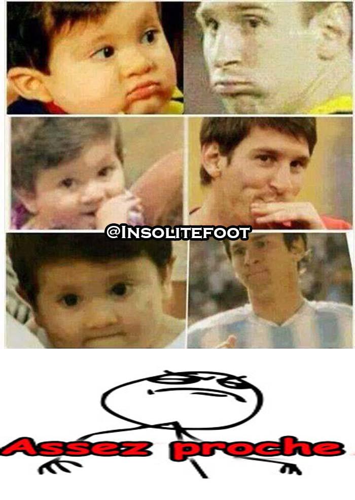 Messi et Thiago : Tel père, tel fils!!!