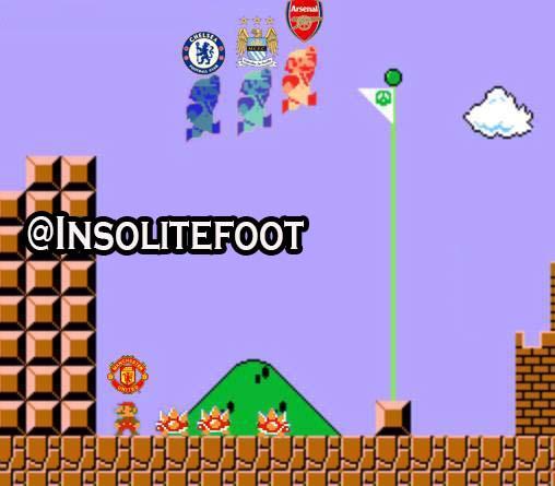 Classement de la Premier League en mode Super Mario!!!