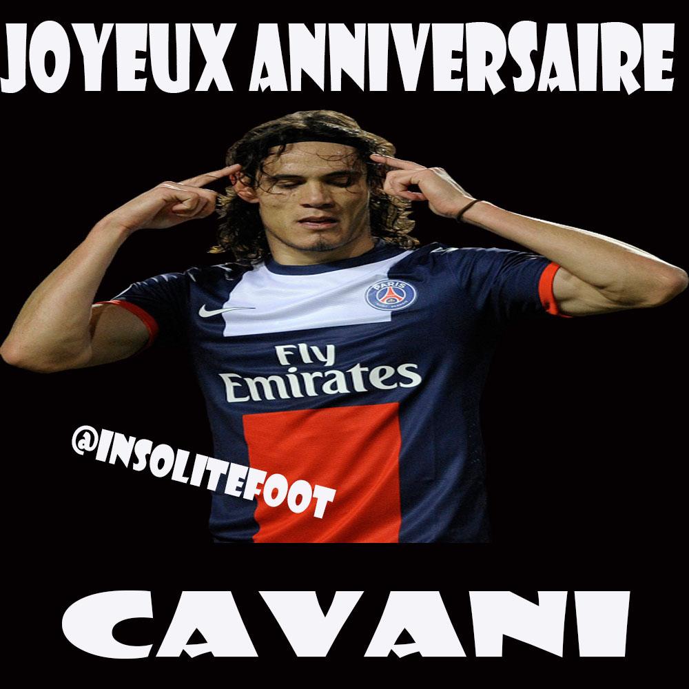 Cavani est né le jour de la Saint-Valentin 1987