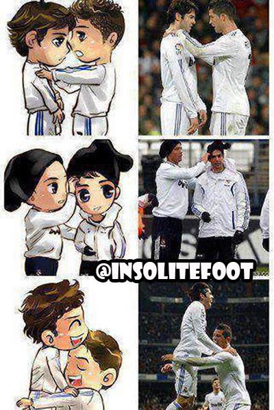 Ronaldo et Kaka : Toujours une meilleure histoire d'amour que celle de Twilight!