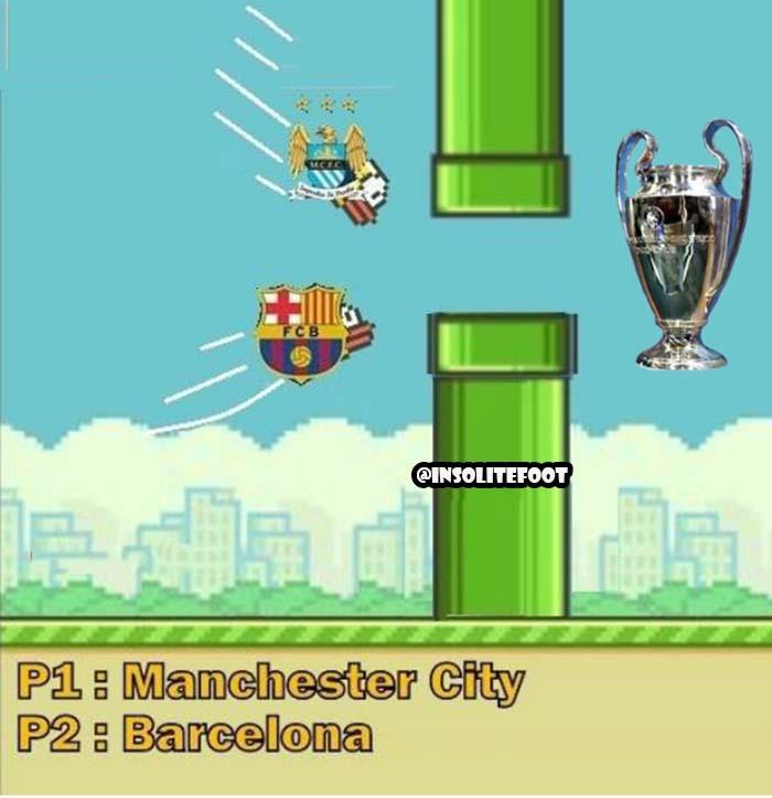 Ligue des champions : Qui va passer, Man City ou Barça ?