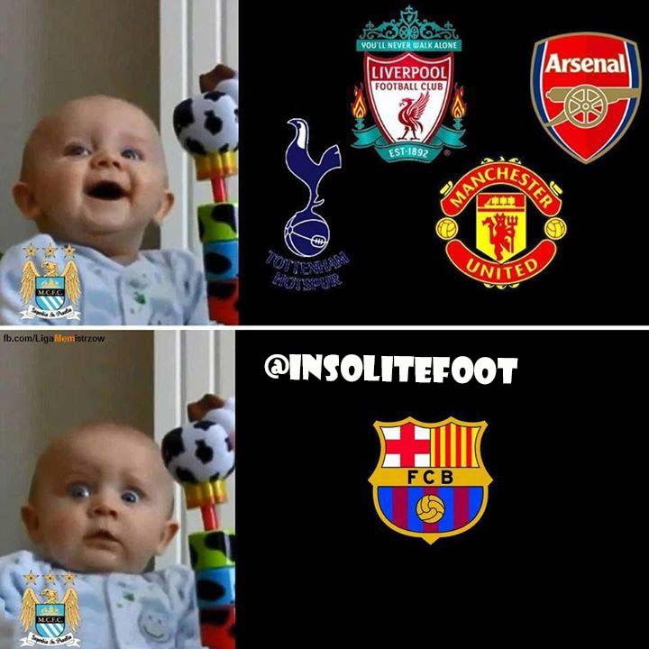 Les deux visages de Manchester City!