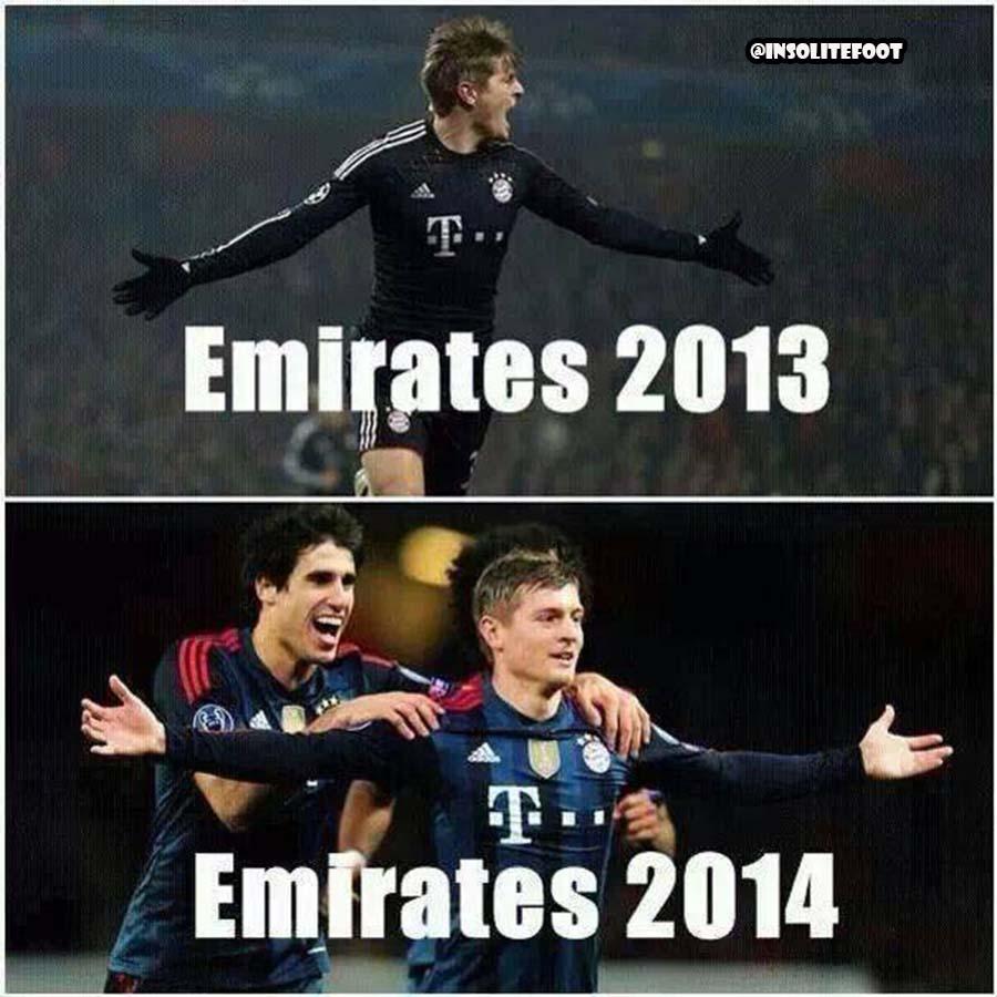 Ligue des champions : Avec Toni Kroos certaines choses ne changent pas.