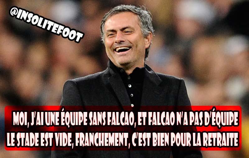 Chelsea : Mourinho tacle Falcao et Monaco