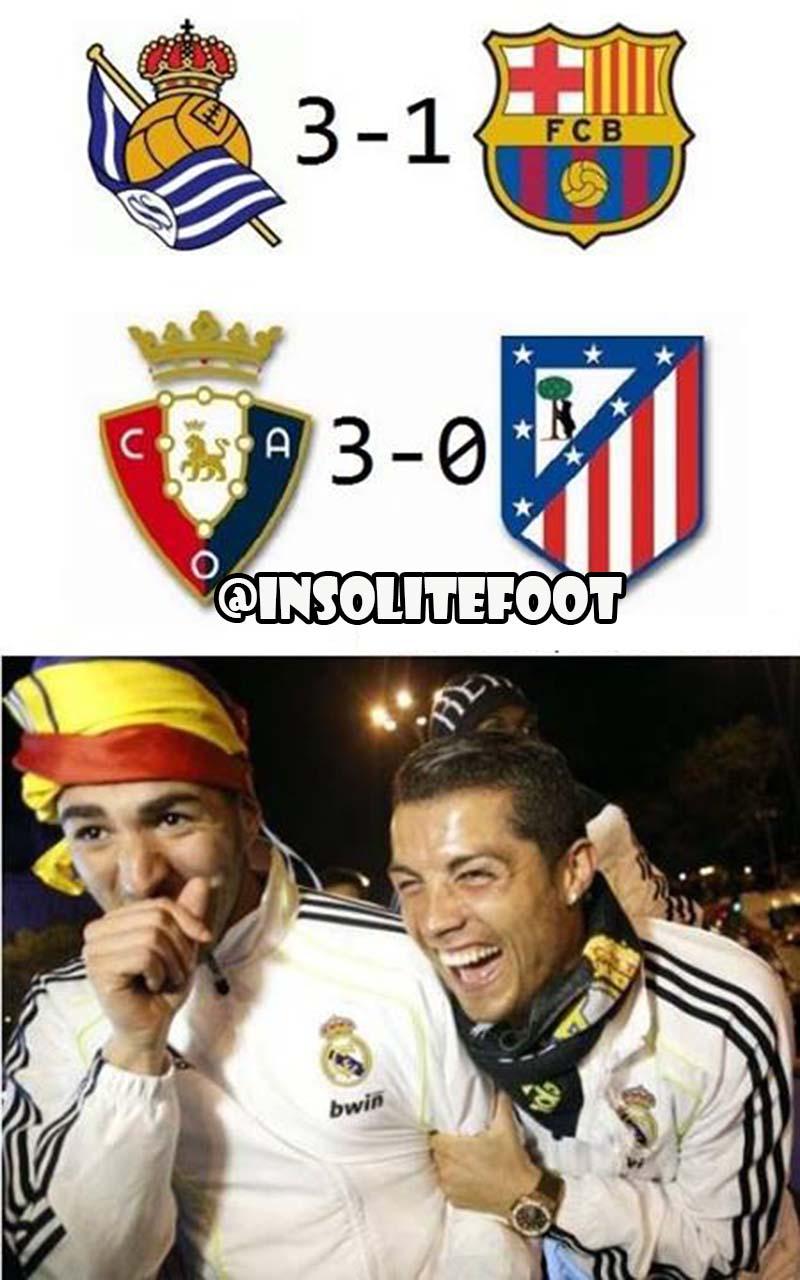 Liga : Le Real Madrid seul en tête