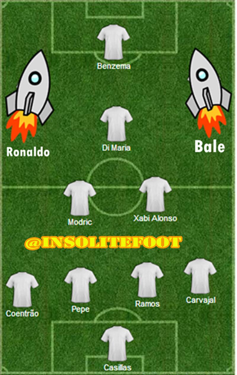 Real Madrid : Avec Ronaldo, Plus Bale la vie