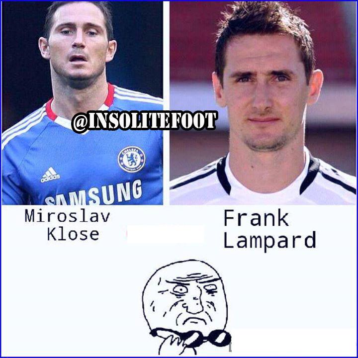 Assez Proche : Miroslav Klose et Franck Lampard