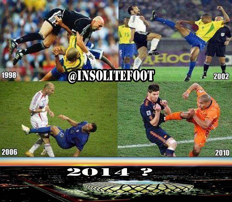 La coupe du Monde 2014 nous réserve des surprises !